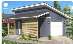 Построить гараж из плит